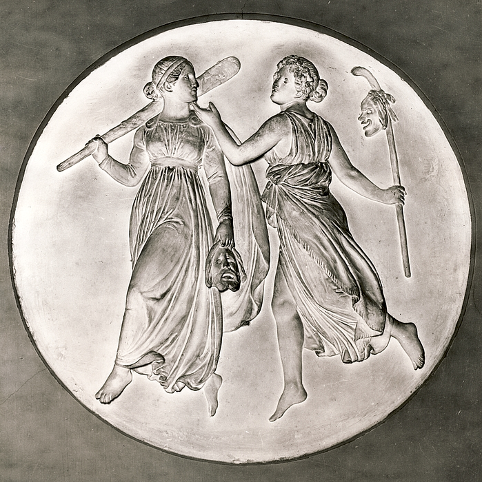The Muses of Comedy and Tragedy